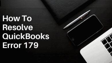 How To Resolve QuickBooks Error 179