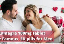 Kamagra 100mg tablet- Best Famous ED pills for Men