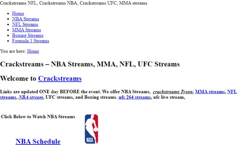 nfl crack streams